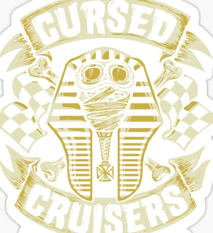 Cursed Cruisers Sticker