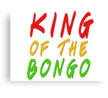 king of the bongo manu chao reggae ska rasta jamajca smoke weed stoner music lyrcis t shirts Canvas Print
