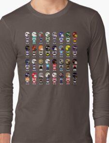 8-Bit FOOTBALL!!! Long Sleeve T-Shirt
