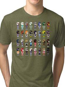 8-Bit FOOTBALL!!! Tri-blend T-Shirt
