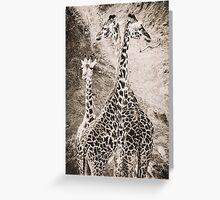 Tatu Twiga - Masai Mara, Kenya Greeting Card