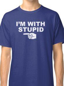 My boyfriend is stupid Classic T-Shirt