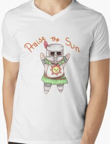 Praise The Sun! Mens V-Neck T-Shirt