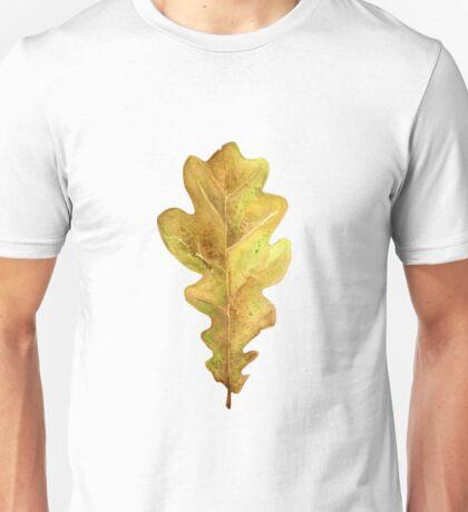 Oak leaf in autumn Unisex T-Shirt