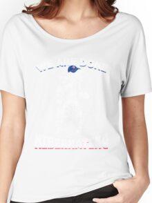 Chicago Cubs World Series Champs Bear Hibernating Women's Relaxed Fit T-Shirt