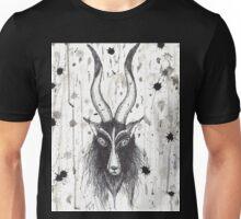 Baphomet Goat Splatter  Unisex T-Shirt