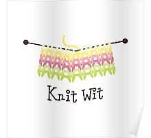 Knit Wit Poster