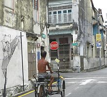 Love Lane Penang Malaysia by sandysartstudio
