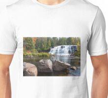 Bond Falls in the Upper Peninsula of Michigan Unisex T-Shirt
