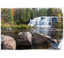 Bond Falls in the Upper Peninsula of Michigan Poster