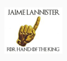 Jaime Lannister for Hand of the King Kids Tee