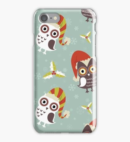 Winter Owls iPhone Case/Skin