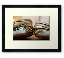 Day 21 - Yellow Framed Print