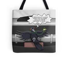 Crow Self-Help Tote Bag