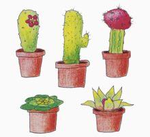 Cacti Love One Piece - Short Sleeve