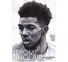Jerome Sinclair - Liverpool FC Photographic Print