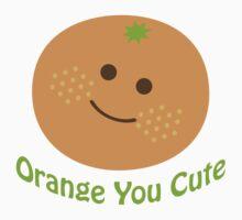 Orange You Cute One Piece - Short Sleeve