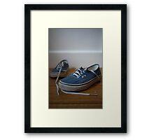 Day 23 - Blue Framed Print