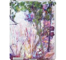 A Pot of Forget-me-not, from me to you iPad Case/Skin