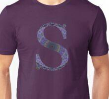 Letter 'S' Purple Mandala 2 Unisex T-Shirt