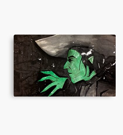 Wicked Witch Canvas Print