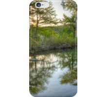 Texas Hill Country Images - Pedernales Falls September Sunrise 5 iPhone Case/Skin