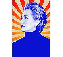 Nasty Woman T-Shirt - Hillary Photographic Print