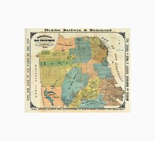 Vintage Map of San Francisco (1890) Unisex T-Shirt