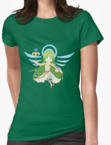 Chibi Palutena Vector Womens Fitted T-Shirt