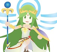 Chibi Palutena Vector by ViralDrone