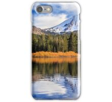 Mount Lassen Reflections Panorama iPhone Case/Skin