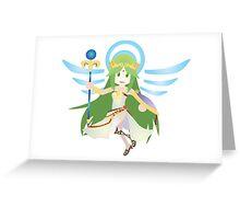 Chibi Palutena Vector Greeting Card