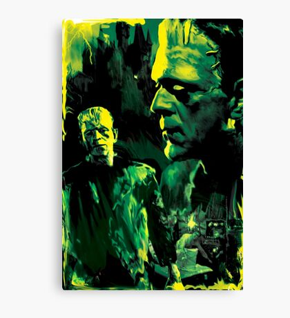 "Frankenstein ""Its Alive!"" Canvas Print"