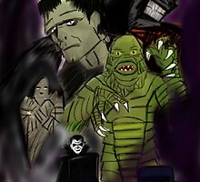 The Monsters by Japoland