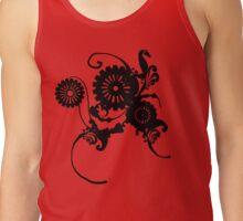 Clockwork Floral Tank Top
