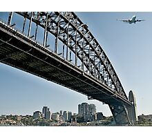 Over the Coat Hanger,Sydney.  Photographic Print
