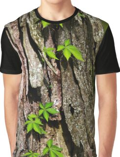 Bark Abstract Graphic T-Shirt