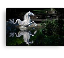 The Winterthur Seahorse Canvas Print