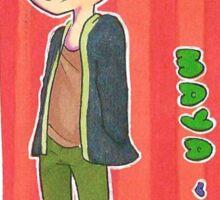 Hideyuki Maya Sticker