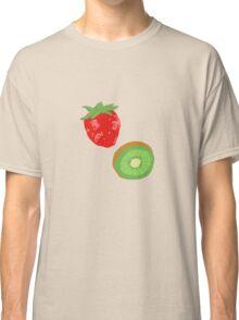 Strawberry Kiwi Pattern Classic T-Shirt