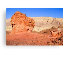Timna natural and historic park, Israel Canvas Print