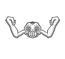 Geodude de los Muertos | Pokemon & Day of The Dead Mashup by abowersock