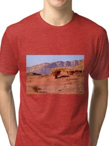 Timna natural and historic park, Israel Tri-blend T-Shirt