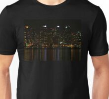 San Diego Skyline Night Unisex T-Shirt