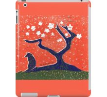 The Lone Wolf - Red iPad Case/Skin