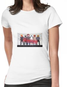 McDonalds A.K.A McBusted Boy Band Womens Fitted T-Shirt