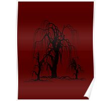 WEEPING WILLOW TREES Poster