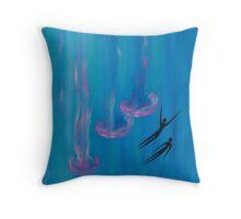 Jellyfish Home Decor Throw Pillow