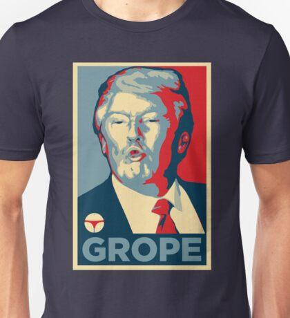 GROPE (HOPE Parody) Unisex T-Shirt