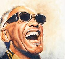 Ray Charles by AfroTriangle